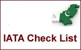 IATA Check List