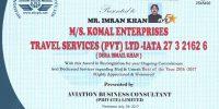 KOMAL ENTERPRISES TRAVEL SERVICES (PVT) LTD