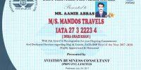 MANDOS TRAVELS - IATA