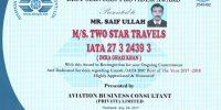 TWO STAR TRAVELS - IATA