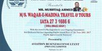 waqar-e-madina travel & tours