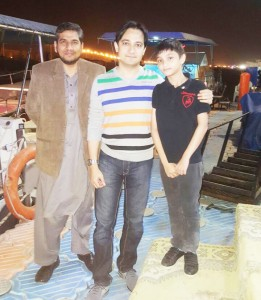 Dinner from UIC at Karachi on 11th March 2017